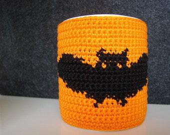 Mug cozy bat | cup cozy | mug cozy | cup cozy bat | halloween coffee cozy | sleeve cozy | crochet cozy | halloween bat | halloween