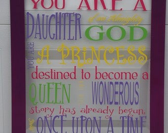 You Are a Daughter Subway Art