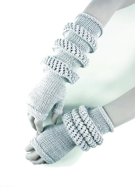 PDF Knitting Pattern Control convertible knit fingerless
