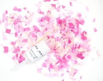 Custom Confetti Push Pop/ Wedding Confetti Poppers/ Wedding Confetti/ Custom Wedding Favors/ Wedding Confetti Bags /Confetti Shooters