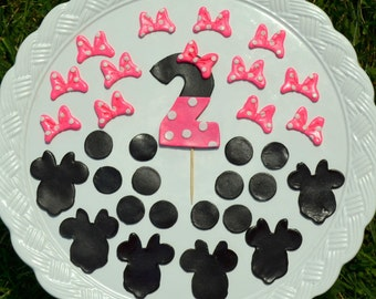Minnie Mouse Inspired Cake Decorating Set