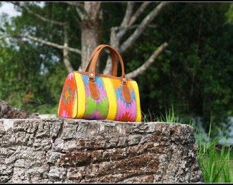 EARTH BAG, mayan handbag, made by hand,
