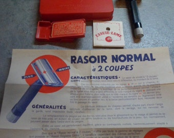 Former safety GIBBS model No. 14 to 2 cups Normal razor our