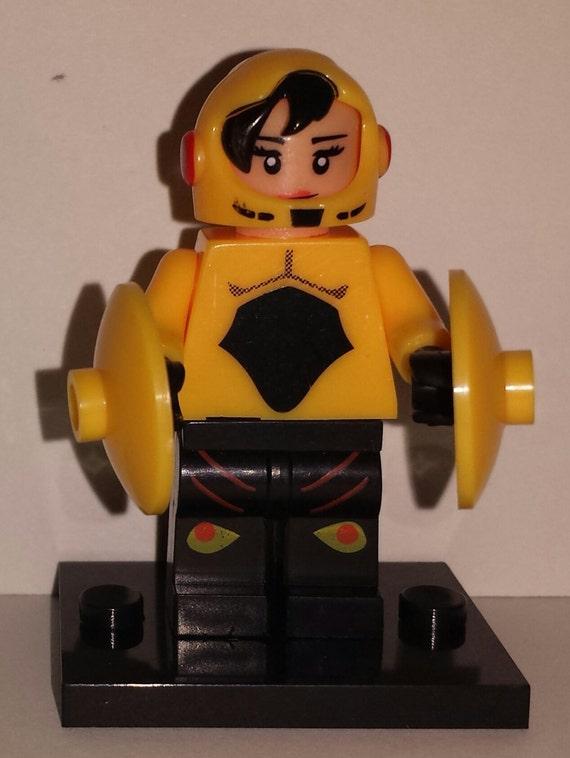 Big Hero 6 Set Minifigures Baymax Hiro Wasabi Go By