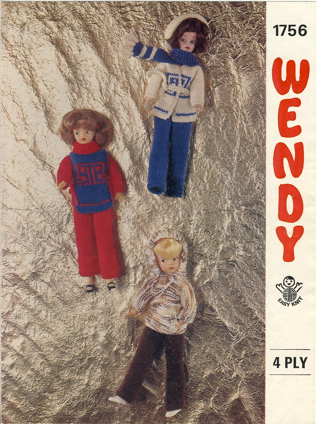 Wendy Knitting Patterns For Dolls : SINDY Knitting Pattern - Wendy 1756 ~ Teenage Dolls ...