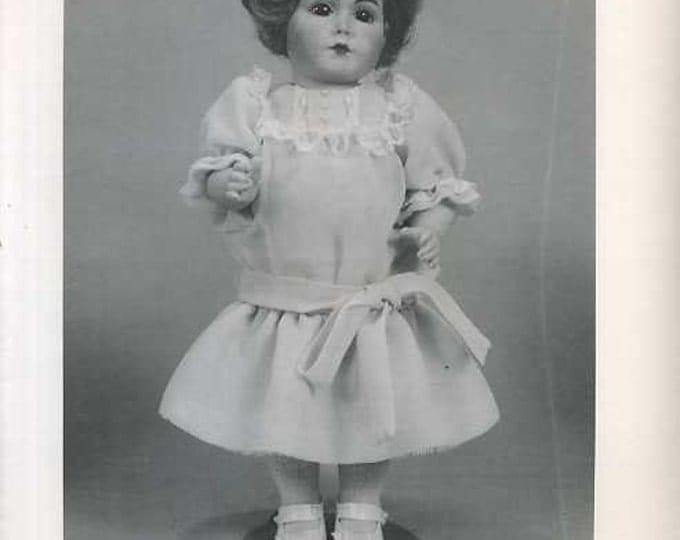 "FREE usa SHIP Byron Doll Pattern 1980's 148 Fits 9 5/8"" Mein Liebling Elisa Dress Dress Old Store Stock Sewing Pattern"