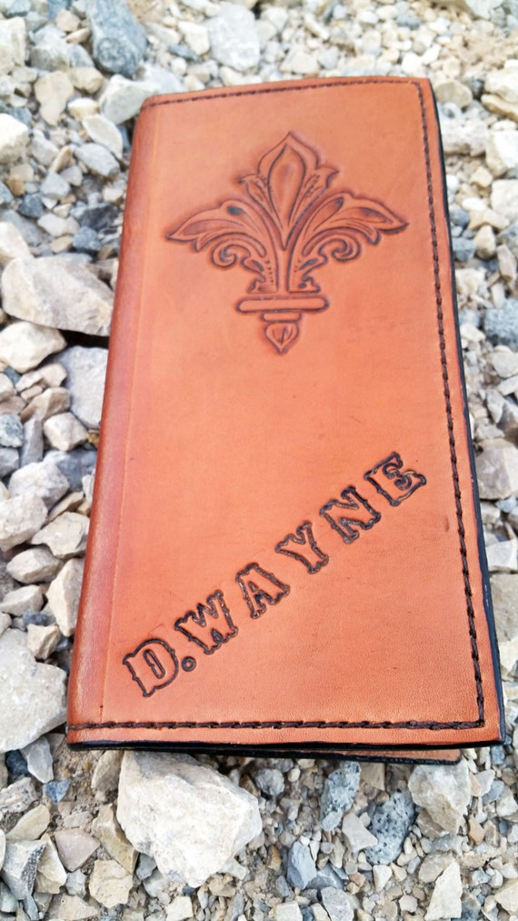 Leather Journal Oilfield Tally Book