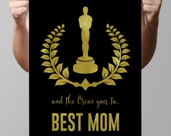 Printable-Custom-Personalized-Oscar Trophy-Oscar statue-Award-Hollywood-USA-movie-Academy award-LA-CA-Film-celebrity-Your own nominee-No.180