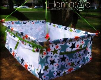 Baby Hammock, Cradle, Bassinet - Hamaca Elephant Stars