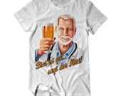 Beer is good says the doctor - fun T-Shirt - beer shirt