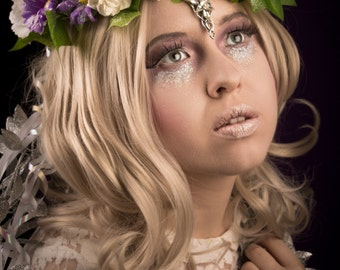 Elvish flower crown