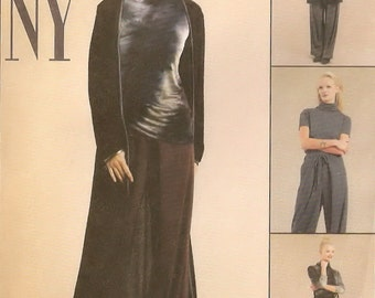 McCall's NY NY The Collection sewing pattern - duster, top, pants