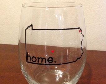 State Home Wine Glasses
