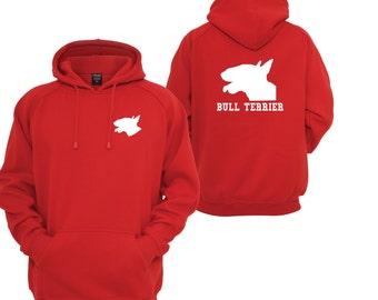Bull Terrier Hoodie Sweatshirt