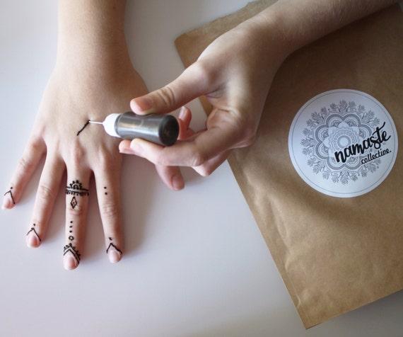 Henna Ink Kit: Henna Kit Natural Henna // Easier Than Ever