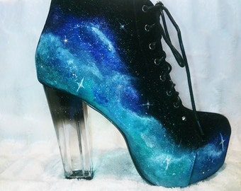 Galaxy Shoes Etsy