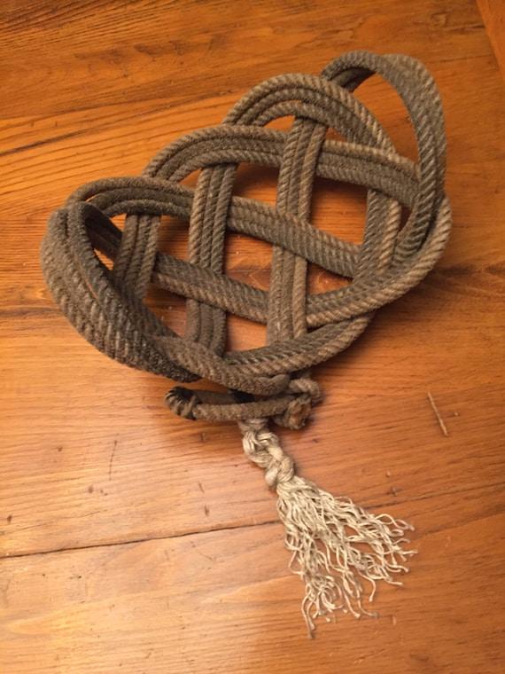 Handmade Rope Basket : Items similar to handmade lariat rope baskets on etsy