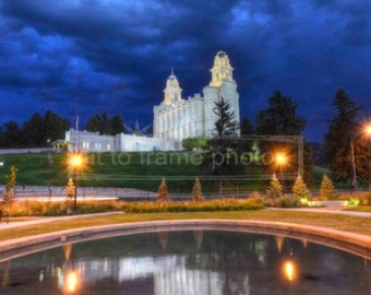 Manti Temple Reflection