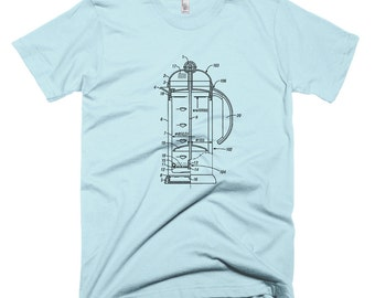 Coffee French Press T-Shirt