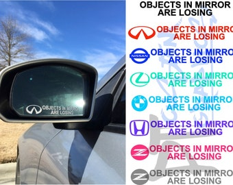 Objects in Mirror are Losing Decal