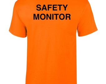 Safety Monitor high visibility tshirt