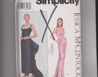 Simplicity Long Gown by Jessica McClinton
