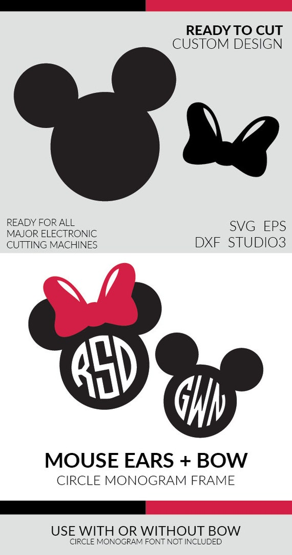 Svg Files Mouse Ears Joy Studio Design Gallery - Best Design