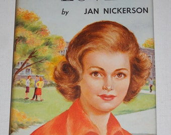 1962 Circle of Love by Jan Nickerson VINTAGE hardcover book