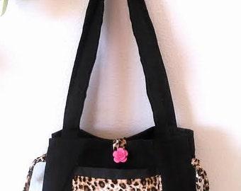 Small Leopard Handbag