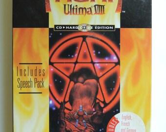 Ultima VIII 8: Pagan Vintage Big Box PC MS-Dos To Hard Drive Edition Origin
