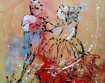 Painting Ballroom Dancing