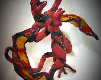 Custom Soft Sculpture Fantasy Dragon