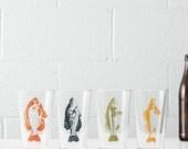 Gone fishin' Pint Glassware