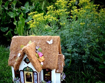 Fairy Godmother House ~ A Whimsical Miniature Doll House Filled with Magic