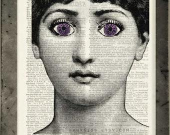 violet, Cavalieri print