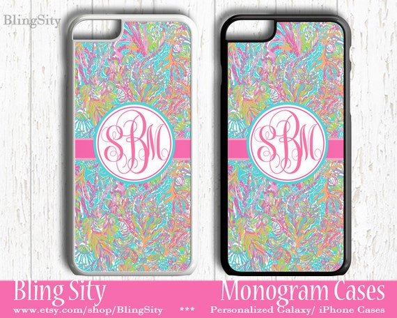 monogram scuba iphone 5c 6 case 6 plus iphone 5s by blingsity