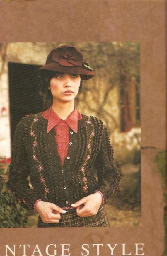 Rowan Knitting Books : Rowan vintage style knitting book for designs autumn