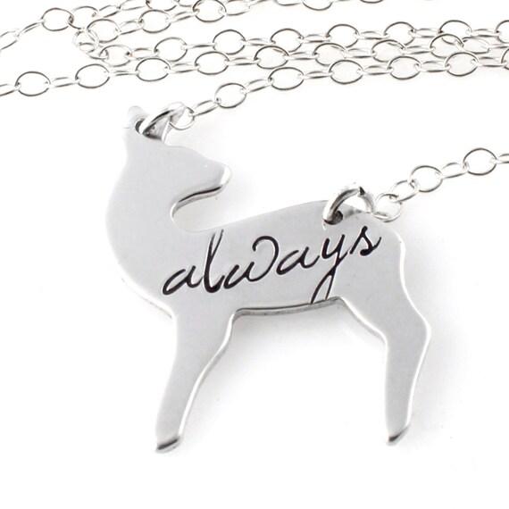 Always Necklace - Doe Necklace - Wizard Necklace