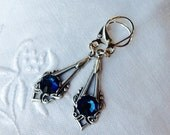 osO ALIX Oo blue montana silver earrings