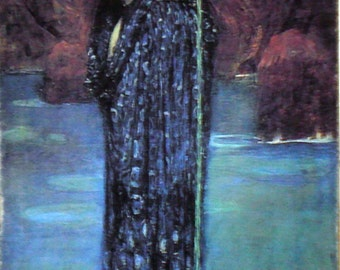 CIRCE Ulysses Painting Print on Canvas Ready to Hang Waterhouse