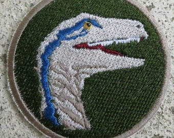 Blue Velociraptor Patch (Jurassic World)