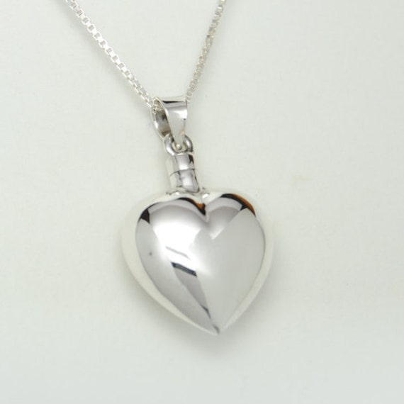sterling silver cremation jewelry by queencityeclectics