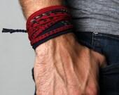 Mens Bracelet, Mens Gift, Birthday, Jewelry Men, Gift Ideas, Birthday Gift, For Him, Wrap Bracelet, Jewelry, Bracelets, Hipster, Boyfriend