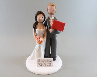 Doctor & Nurse Custom Made Wedding Cake Topper
