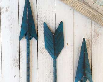 metal arrow home decor arrow wall art native american home decor tribal - Native American Decor