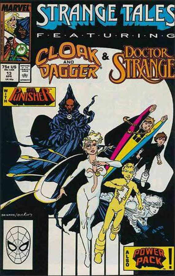 Issue #13 Strange Tales Cloak and Dagger Dr Strange Comic Book in Vf-Nm Condition