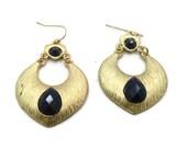 Gypsy Earrings, Big Earrings, Hoop Earrings, Vintage Earrings, Boho Jewelry, Gold Earrings, Dangle Earrings, Unique Jewelry, Statement