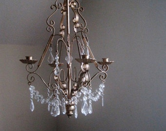 Gwenevere's Firelight 4 Candle Chandelier MADE TO ORDER