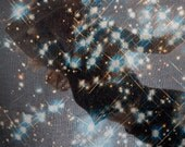Starry Night Galaxy Scarf. FREE SHIPPING USA