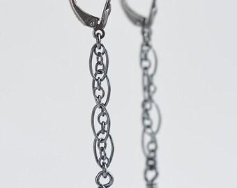 red orange fire agate sterling silver earrings